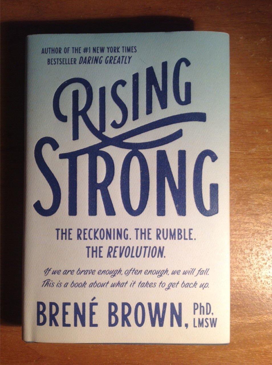Door Stop Novels: Nonfiction: Rising Strong by Brené Brown