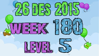 Angry Birds Friends Tournament level 5 Week 180
