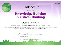 Winners at the Microsoft Parners in Learning European Forum