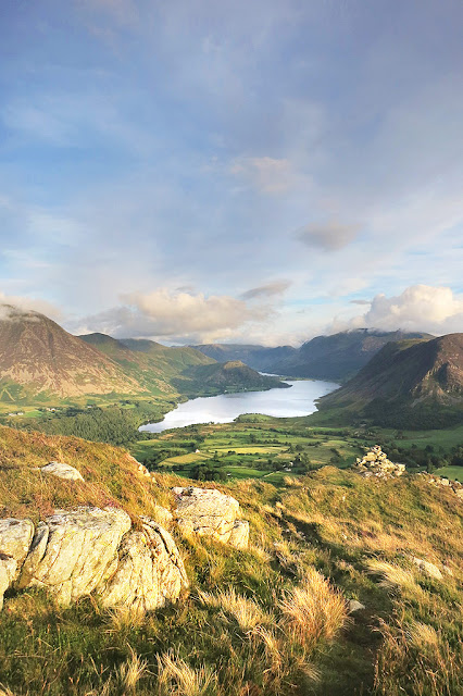 Low Fell View, Crummock Water, Buttermere Walk, Lake District, Best View