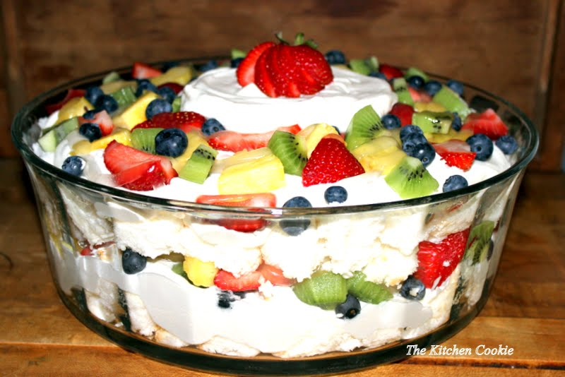... blueberry trifle angel fruit trifle recipes dishmaps berry trifle