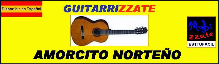 GUITARRA Amorcito Norteño