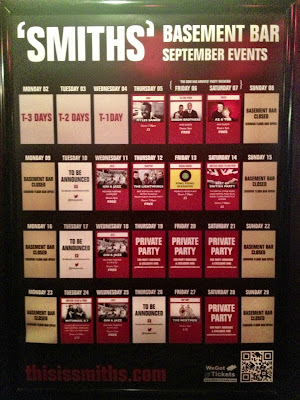 Basement bar events in September