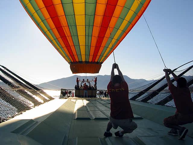 Hot Air Balloons over Lake Tahoe