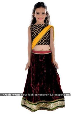 Brocade n Silk Kids Wear / Brocade n Velvet Clothing