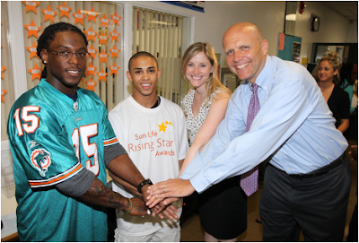 Sun Life Financial and the Miami Dolphins Committed to Helping Small Business in South Florida