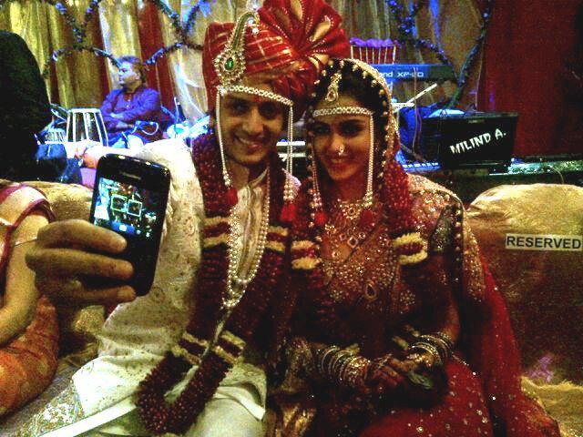 Genelia D Souza Ritesh Deshmukhs Wedding Photo