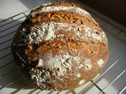 bread baking day #64:  more proteins in your bread!