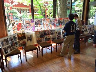 越ヶ谷秋まつり山車人形展示(平成26年5月10日)
