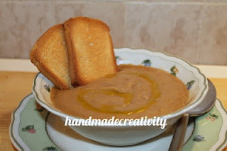 ricetta fagioli patate zuppa vegetariana handmadecreativity.blogspot.it