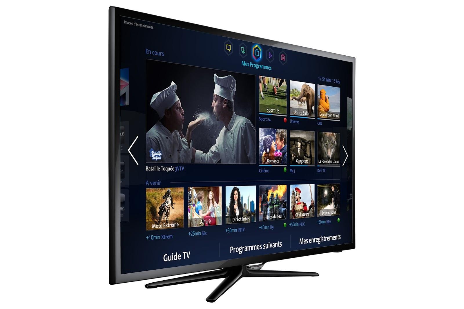 samsung f5500 smart tv avec wi fi televiseur led. Black Bedroom Furniture Sets. Home Design Ideas