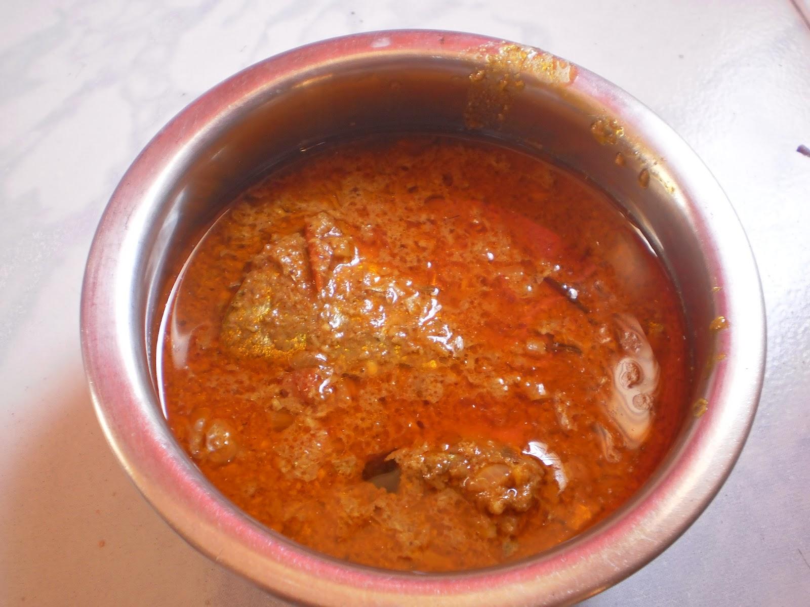 Naethu Vacha Meen Kuzhambu/South Indian fish curry/gravy with coocnut ...