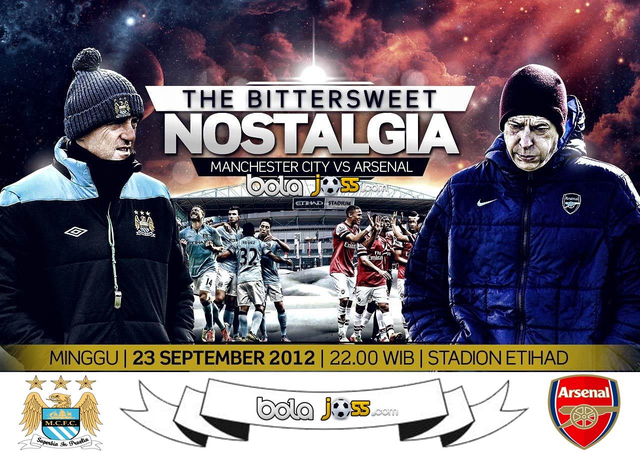 Prediksi Manchester City vs Arsenal 23 September 2012