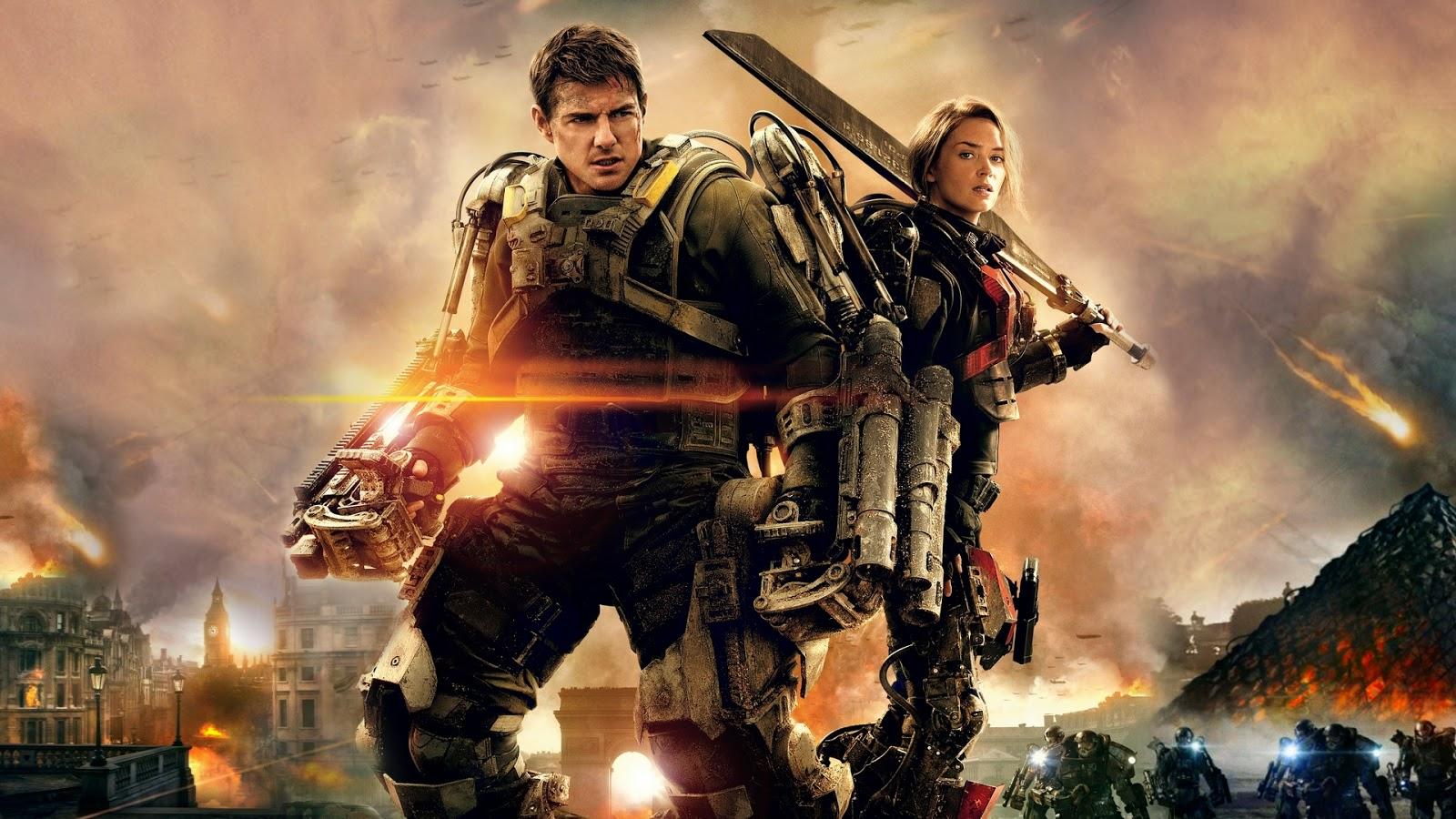 ดูหนัง Edge of Tomorrow - เอดจ์ ออฟ ทูมอร์โรว์ : ซูเปอร์นักรบดับทัพอสูร ชนโรง