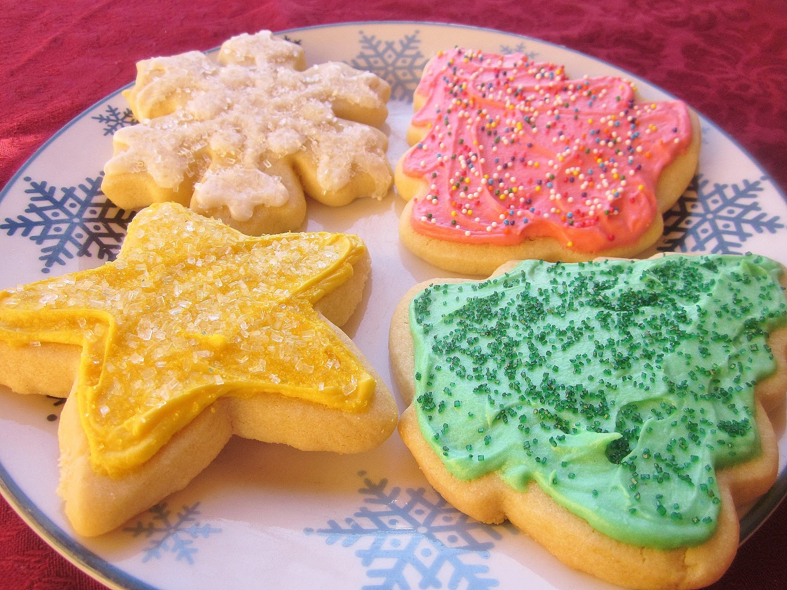 Dimples & Delights: Soft & Thick Cut-Out Sugar Cookies