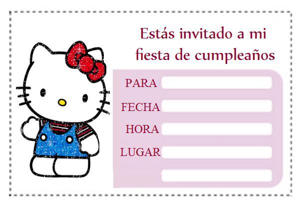 invitacion para cumpleaños