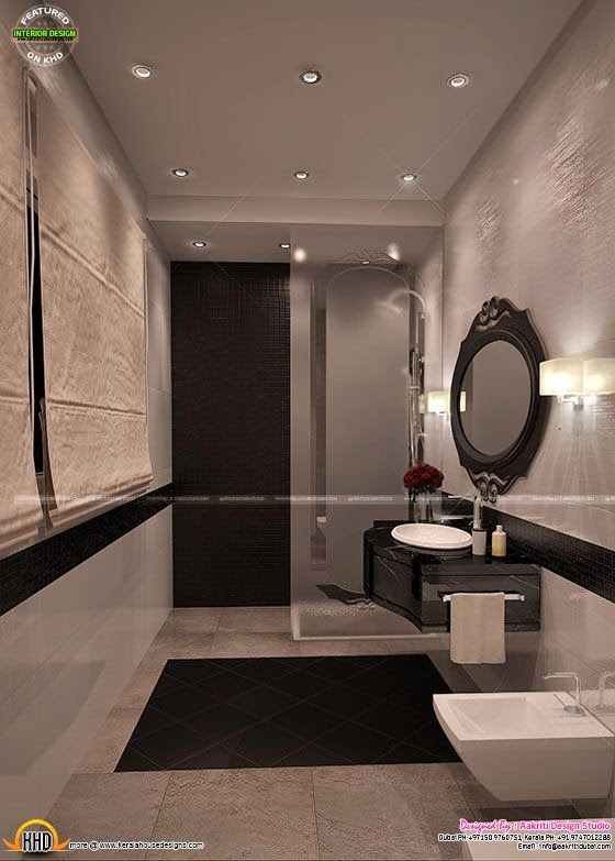 Home interior designs by aakriti design studio kerala for Bathroom designs in kerala