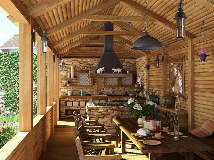 decoracion de interiores rusticos economicos:ESTILO RUSTICO: Quinchos Rusticos