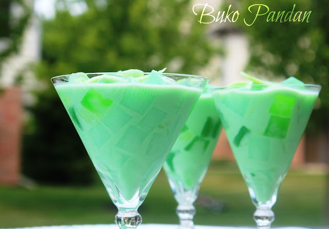 Buko Pandan Juice Recipe