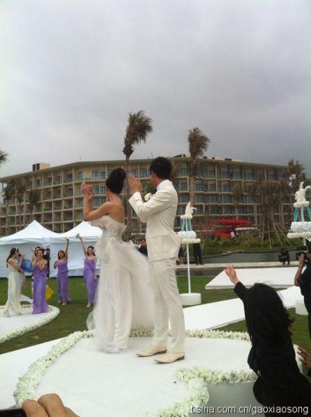 barbie hsu and wang xiao fei. Wedding of Barbie Hsu and Wang