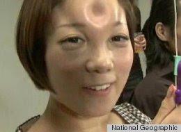 "Journal of the Bizarre: ""Bagel Head"" Trend Sweeps Japan: http://journalofthebizarre.blogspot.com/2012/10/bagel-head-trend-sweeps-japan.html"