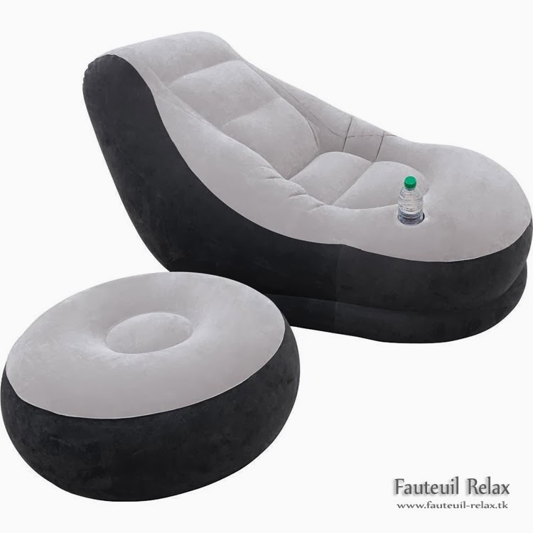 fauteuil relax gonflable et pouf intex fauteuil relax. Black Bedroom Furniture Sets. Home Design Ideas