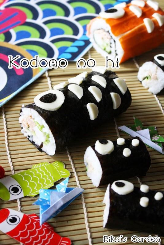 koinobori maki sushi♪ festa dei bambini☆彡
