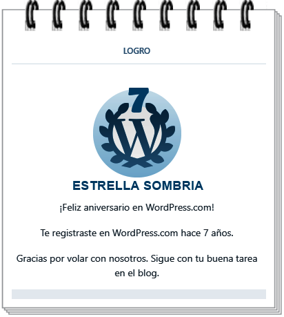 ANIVERSARIO EN WORDPRESS