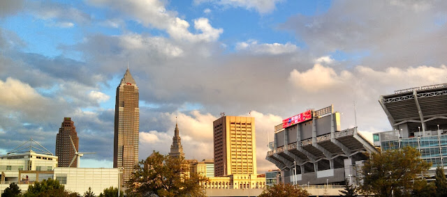 Cleveland skyline, FirstEnergy Stadium
