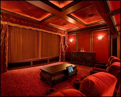 Game Room Decorating Ideas on Design Ideas   Hollywood Style Decor   Movie Decor   Home Cinema Decor