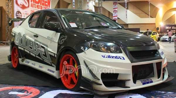 Modifikasi Toyota Vios 2007 : Style Racing