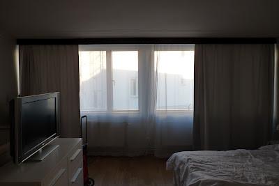 Novotel lägenhetshotell Göteborg, sovrum. foto: Reb Dutius