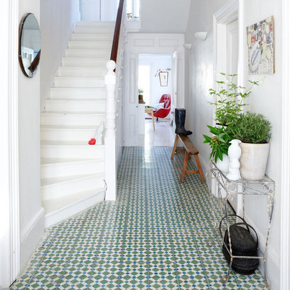 Entryway solution pattern color texture keen fitting for Tiled foyer entrance