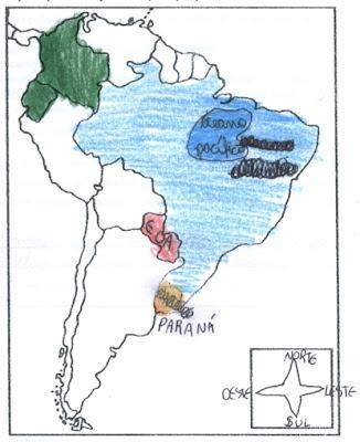 Mapa América Latina