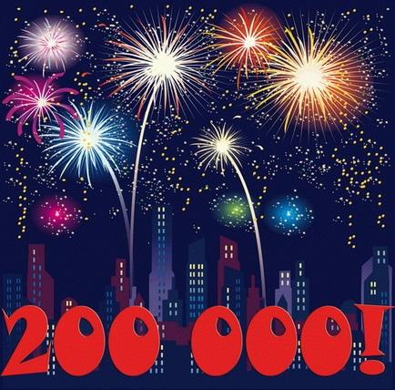 E já são 200,000, ieiii!
