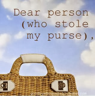 Dear Person (Who Stole My Purse)