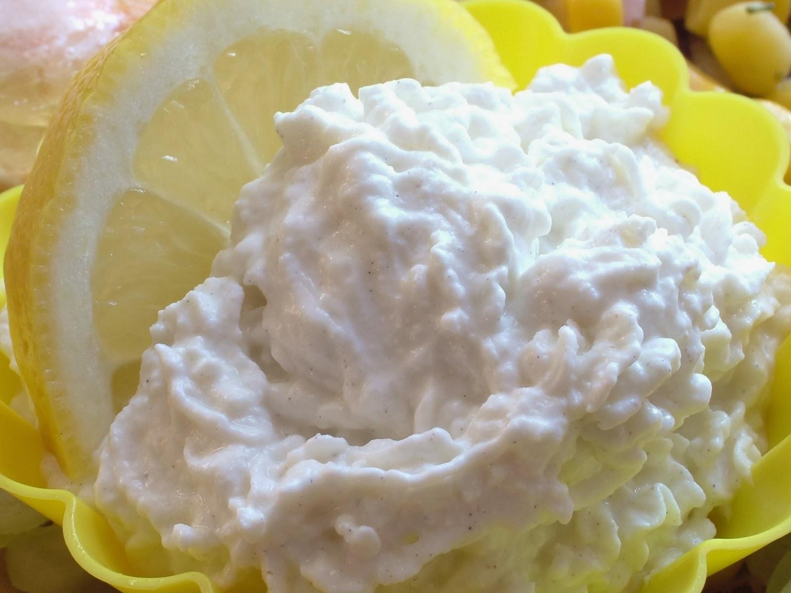 Serek cytrynowy z kardamonem