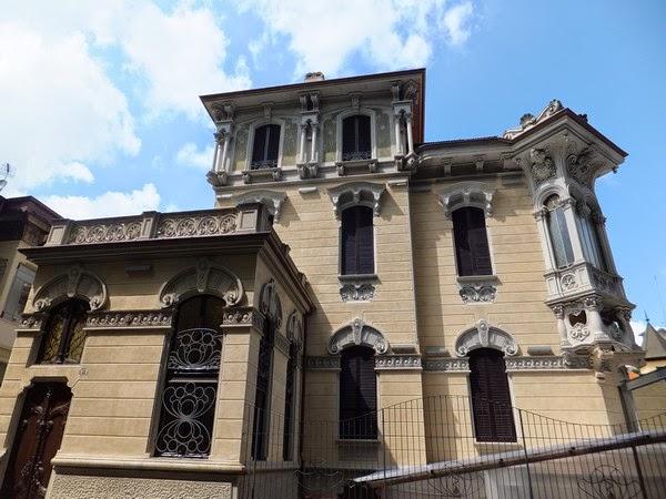 Turin Italie art nouveau Liberty corso francia palazzina raby