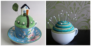 http://www.luvinthemommyhood.com/2010/08/teacup-pincushion-tutorial-roundup.html