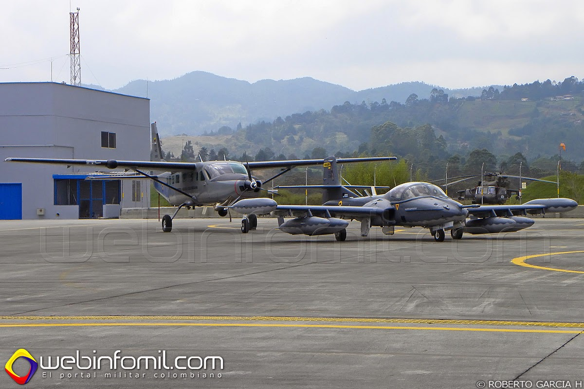 A-37 Dragonfly Colombia Fuerza Aérea Colombiana