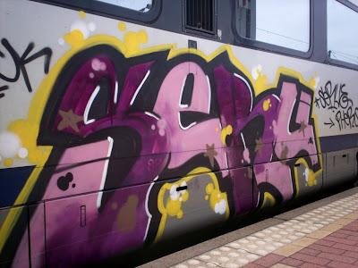 SERU graffiti
