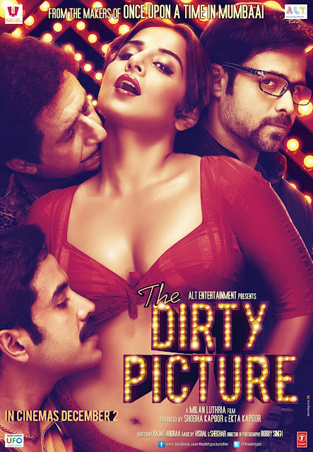First Look : Vidya Balan's 'Dirty Picture' Hot Pics