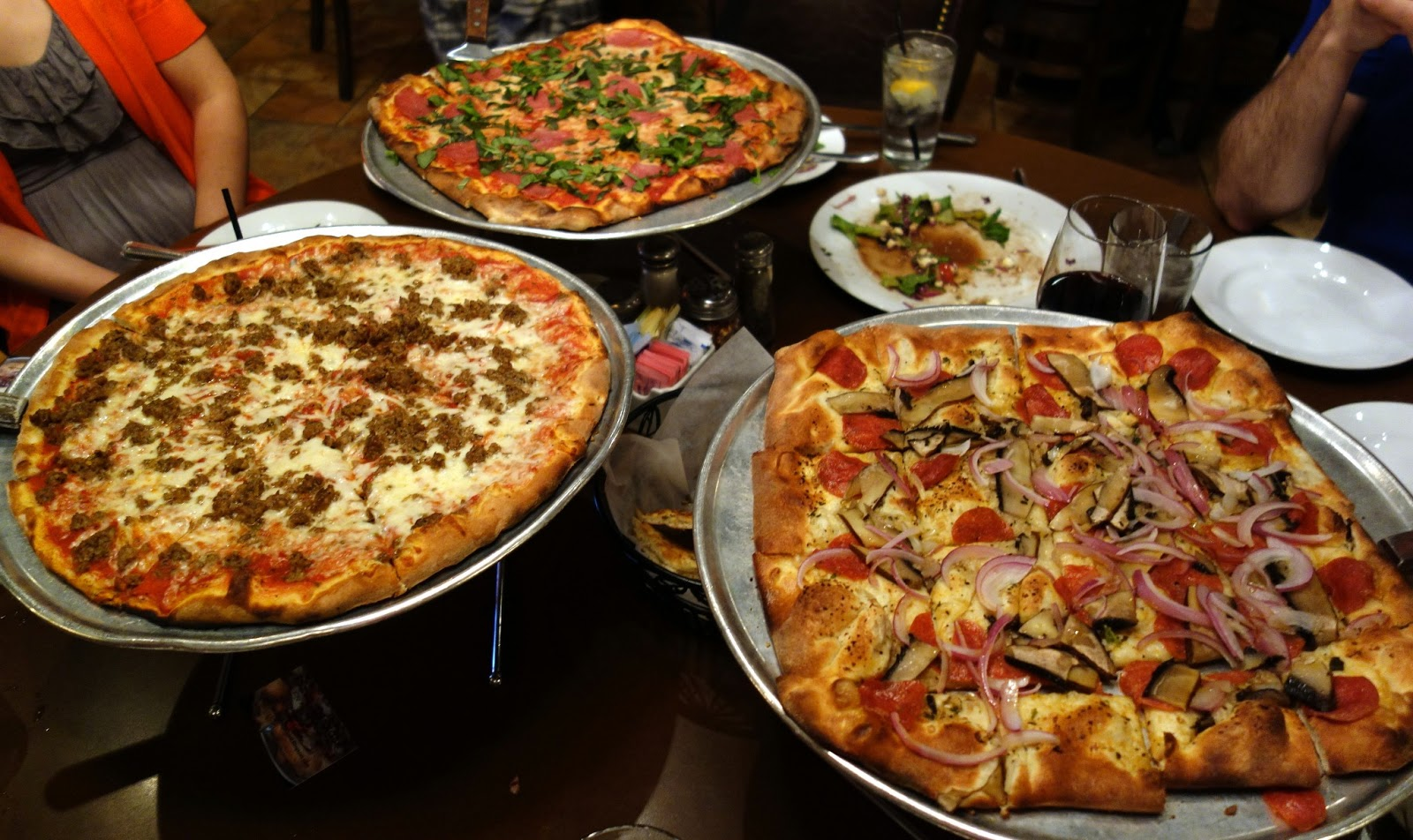 pizza quixote: review: russo's new york coal-fired italian kitchen