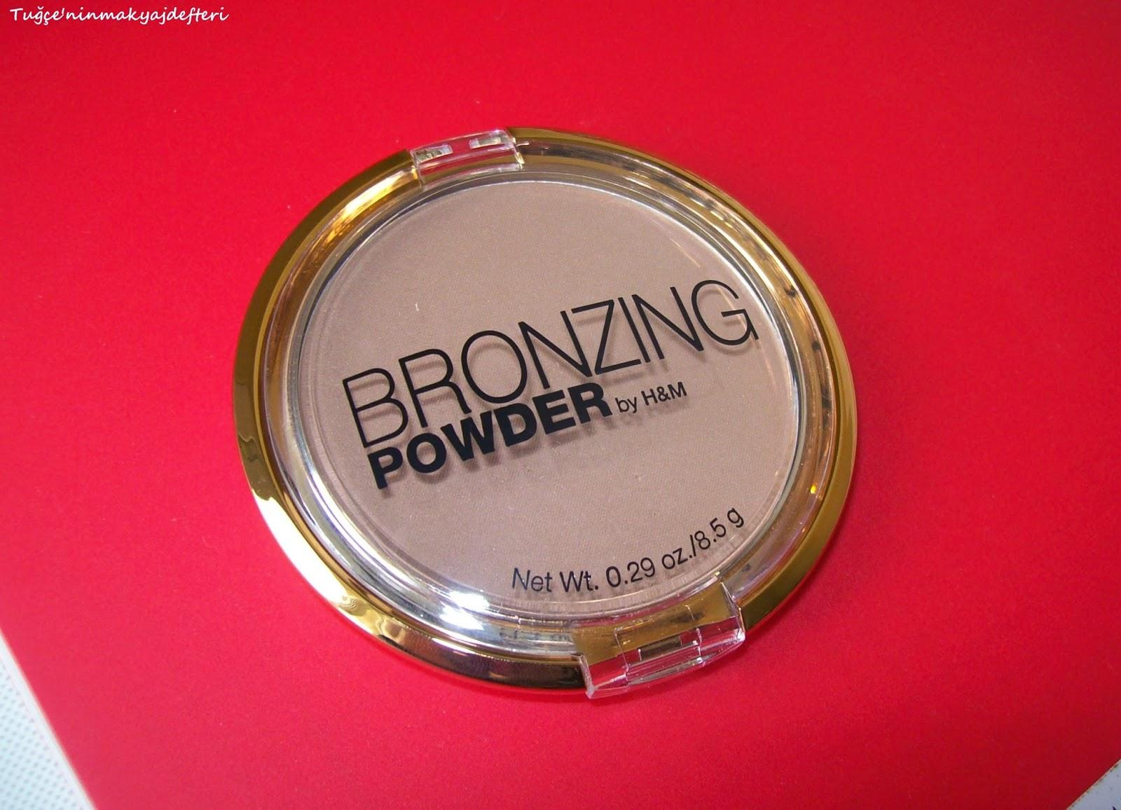 H&M bronzing powder / gorgeous tan