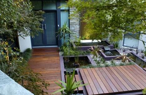 Desain rumah dan taman minimalis