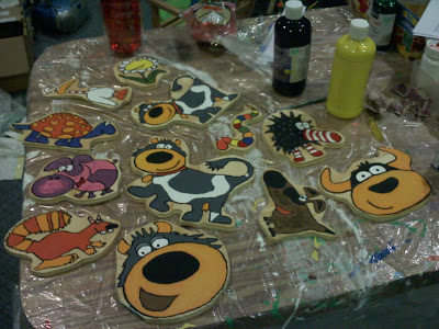 Connie the Cow and Friends Wood Cut-Outs