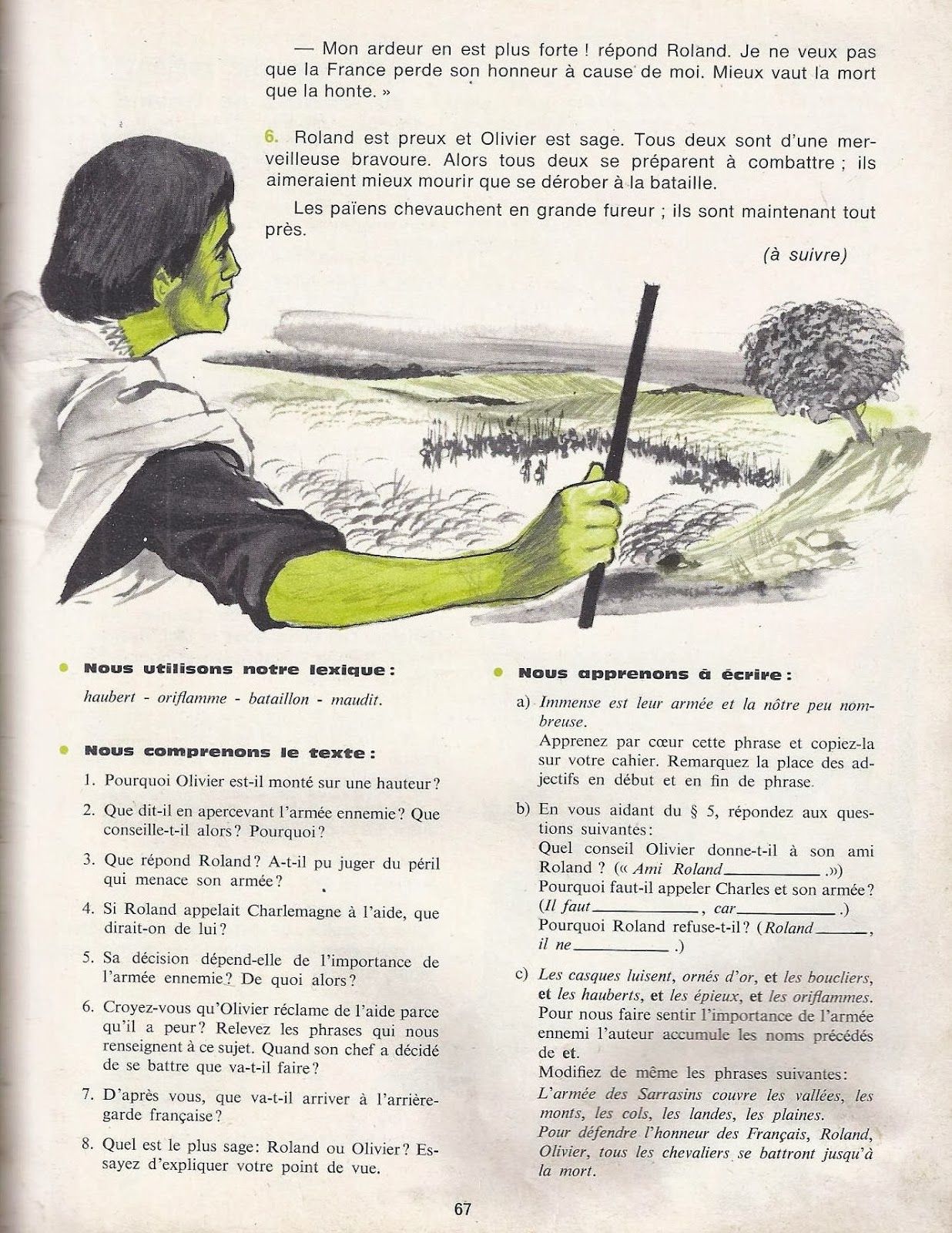 Manuels anciens mareuil goupil l 39 invitation au voyage lectures pou - Ecolier dans la lune ...