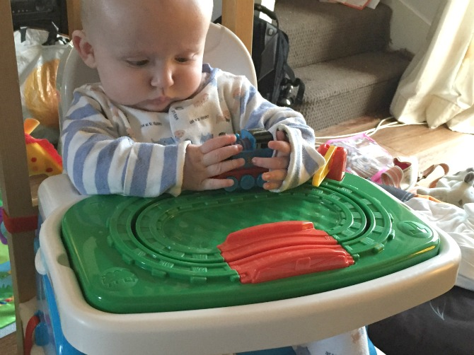 Thomas the Tank Engine insert to the high chair