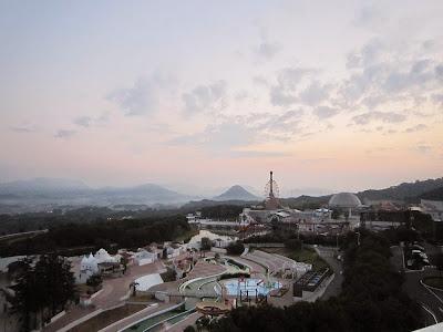 香川県・『ホテルレオマの森』から眺める美しい景色
