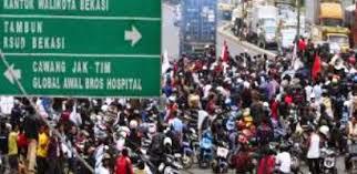 Jadwal DEMO BURUH di Bekasi
